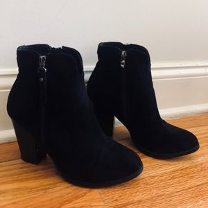 Catherine Malandrino Puddie Faux Suede Boots